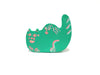 Cat Rider Pin (Green)