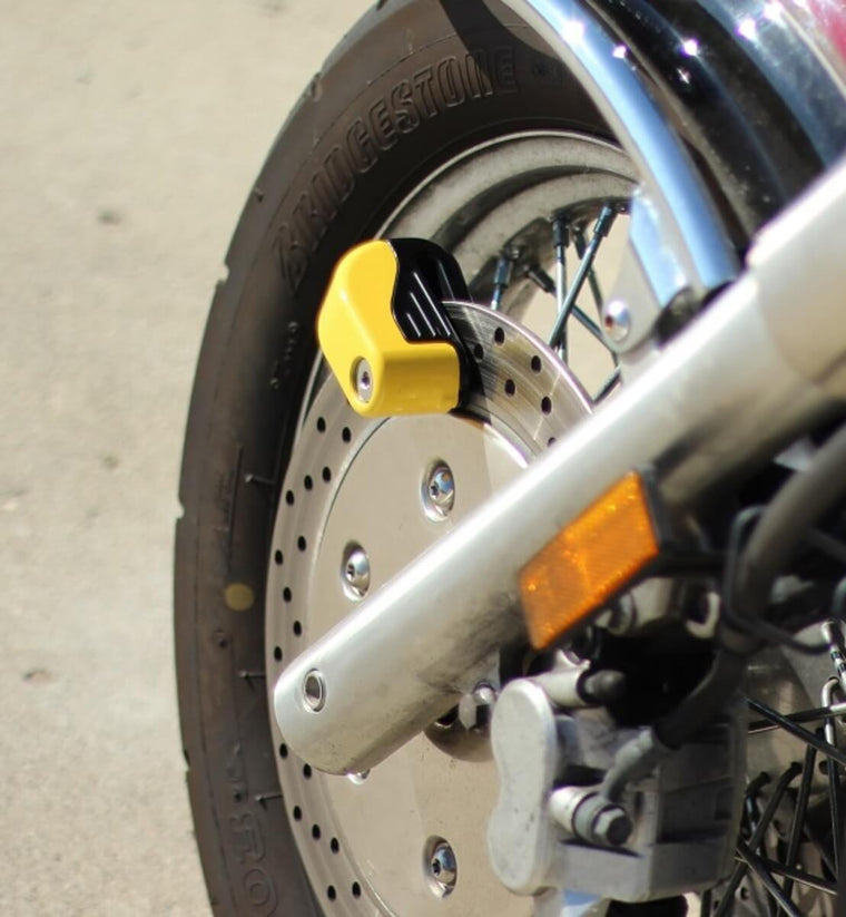 Screaming Motorcycle Disc Alarm
