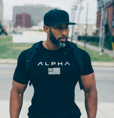 Mens Alpha Fitness T Shirt