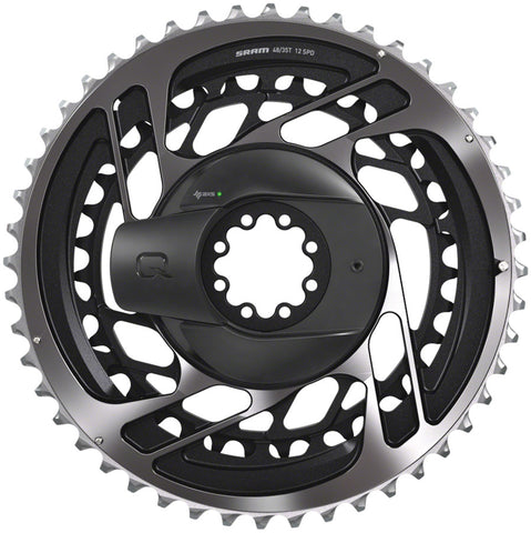 SRAM RED AXS Power Meter Kit: Direct-Mount 2 x 12-speed Chainring Set, Polar Gray