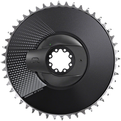 SRAM RED AXS Power Meter Kit: Direct-Mount 1 x 12-speed Aero Chainring, Black