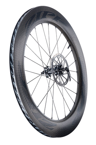ZIPP 808 FIRECREST DISC TUBELESS CLINCHER WHEELSET