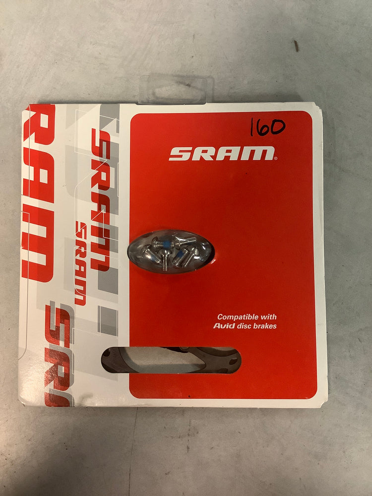 SRAM/Avid CenterLineX 2-Piece 160mm 6 Bolt Rotor with Ti Rotor bolts