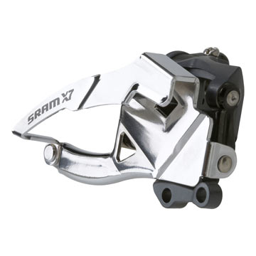 SRAM X7 2 x 10 Dual Pull Low Direct Mount S3 42T Front Derailleur