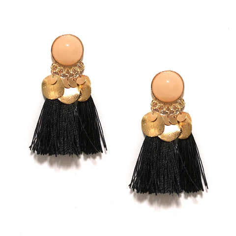 MONA TASSEL IN BLACK