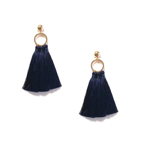 KAMILA TASSEL IN NAVY