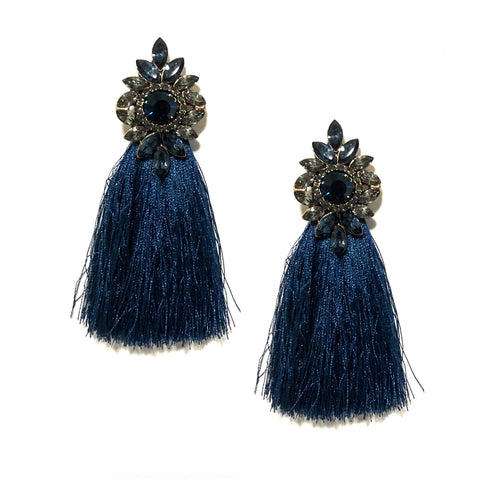 DIANA TASSEL IN NAVY