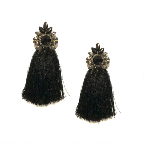 DIANA TASSEL IN BLACK