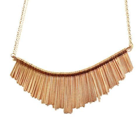 REVERSIBLE NECKLACE IN GOLD