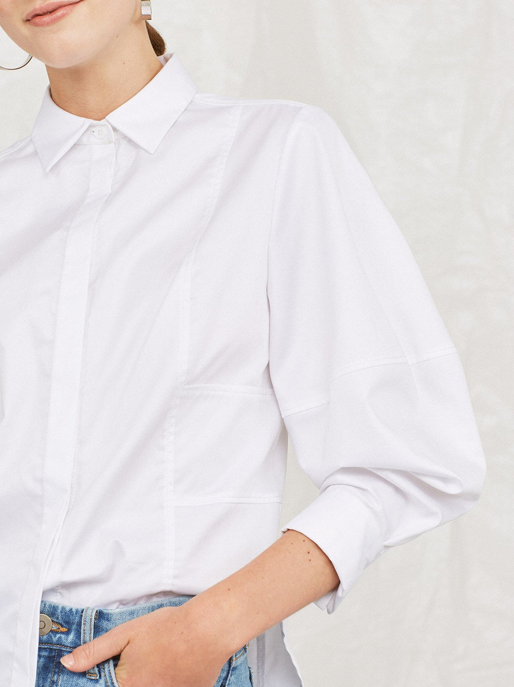 Isabella Panelled Shirt