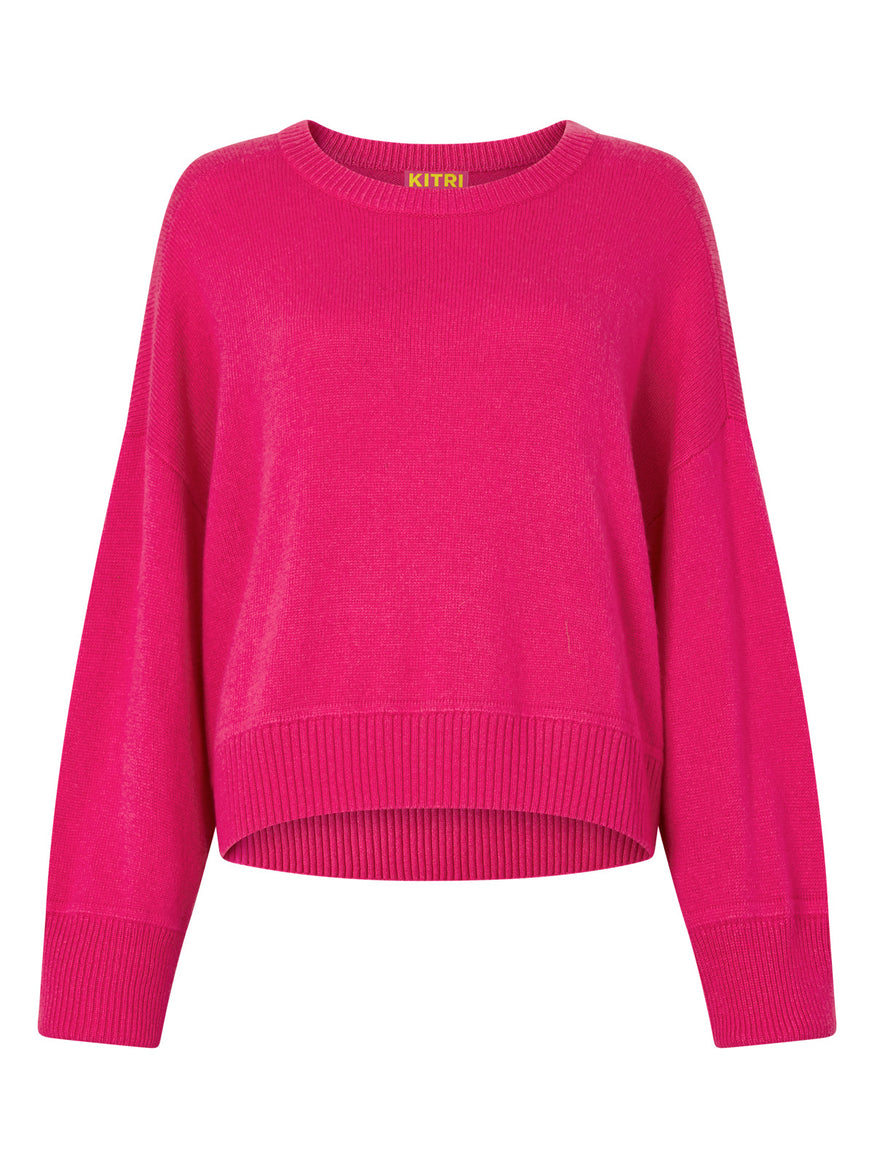 Alanis Cashmere Blend Sweater by KITRI Studio