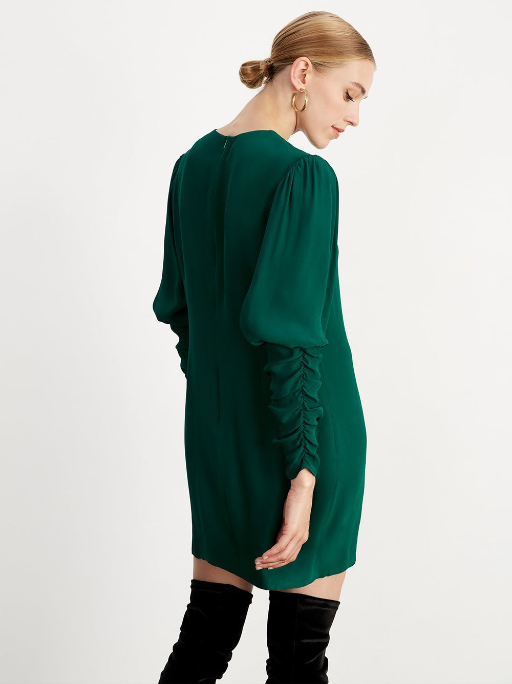 Alexandra Green Mini Dress by KITRI Studio