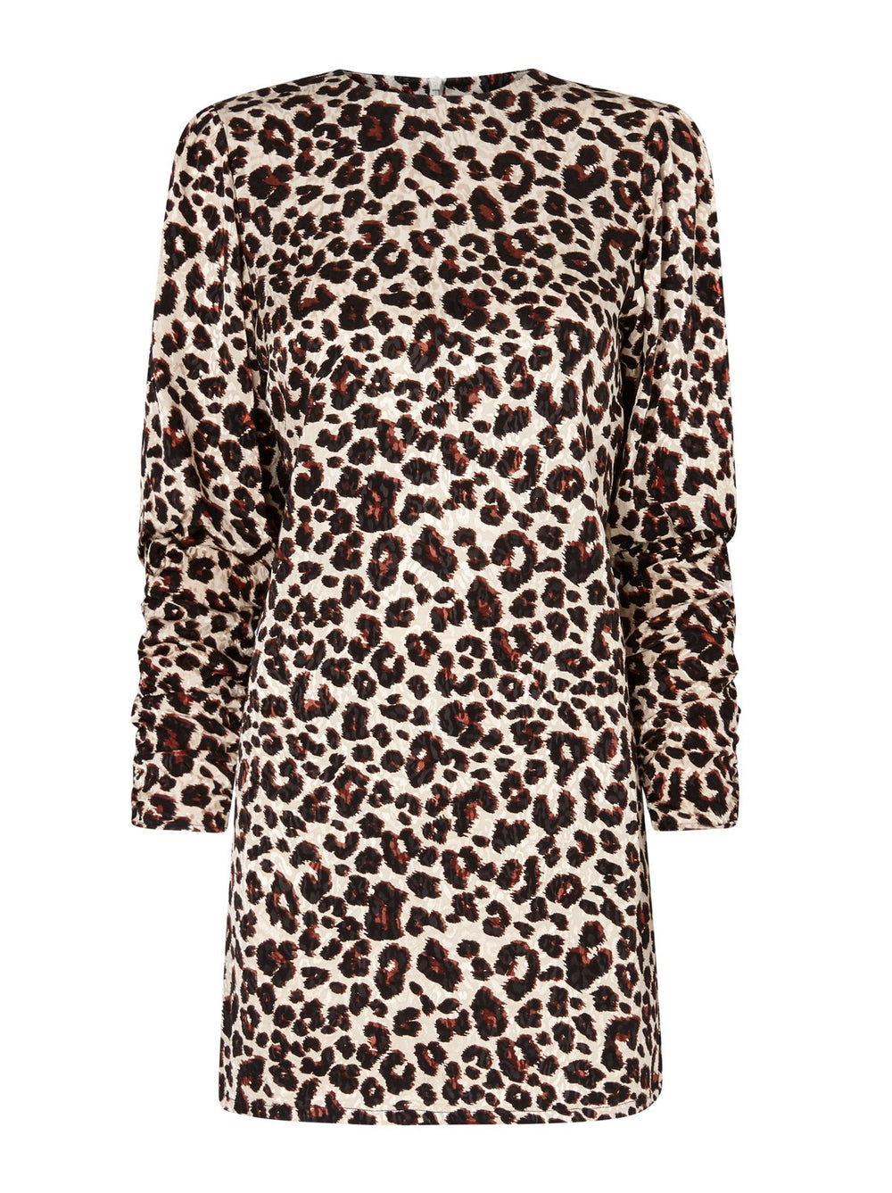 Alexandra Leopard Print Mini Dress by KITRI Studio