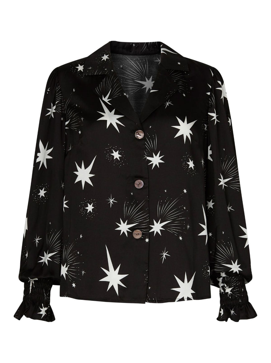 Astrid Star Print Top by KITRI Studio
