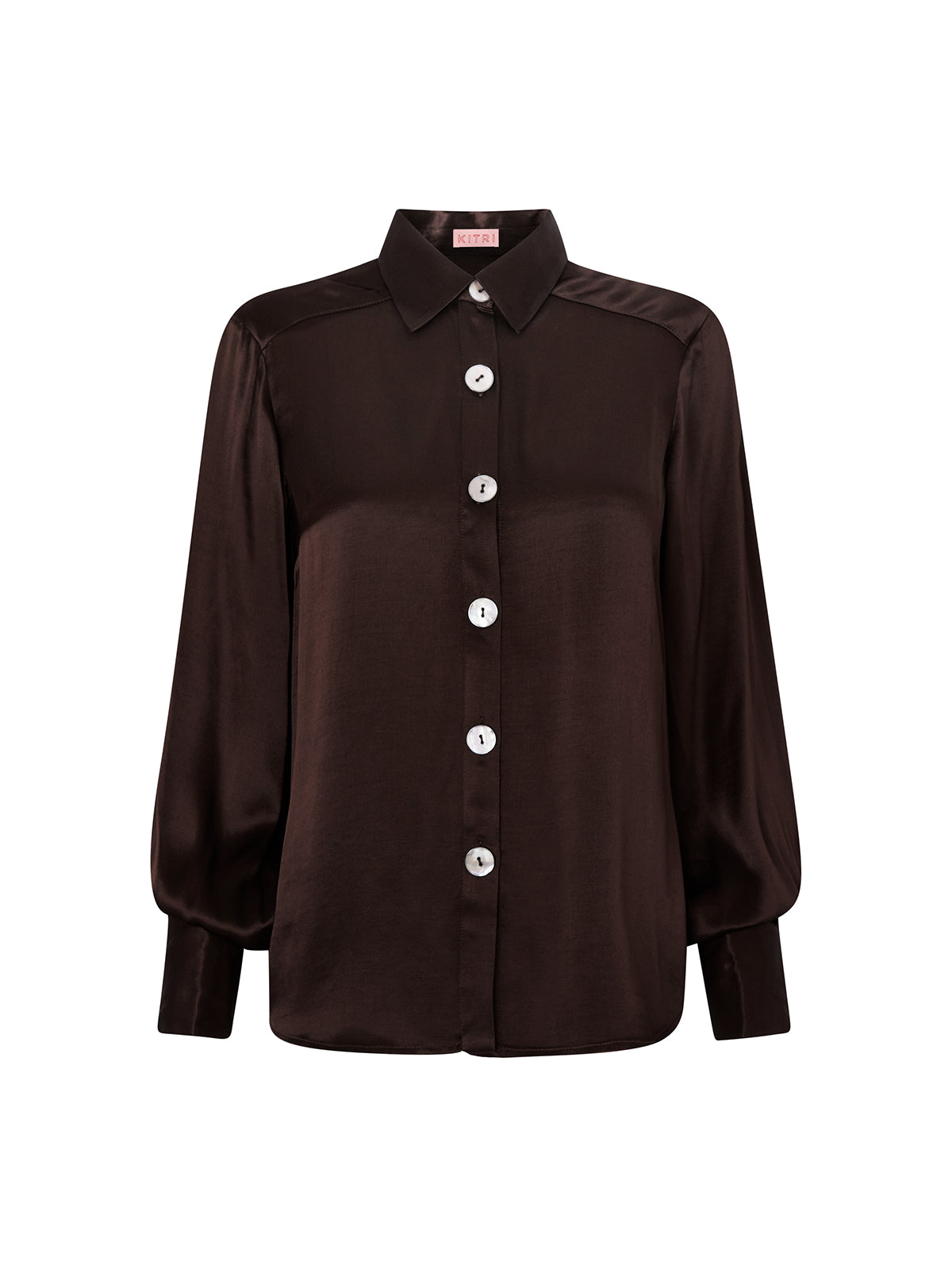Joanna Chocolate Blouse
