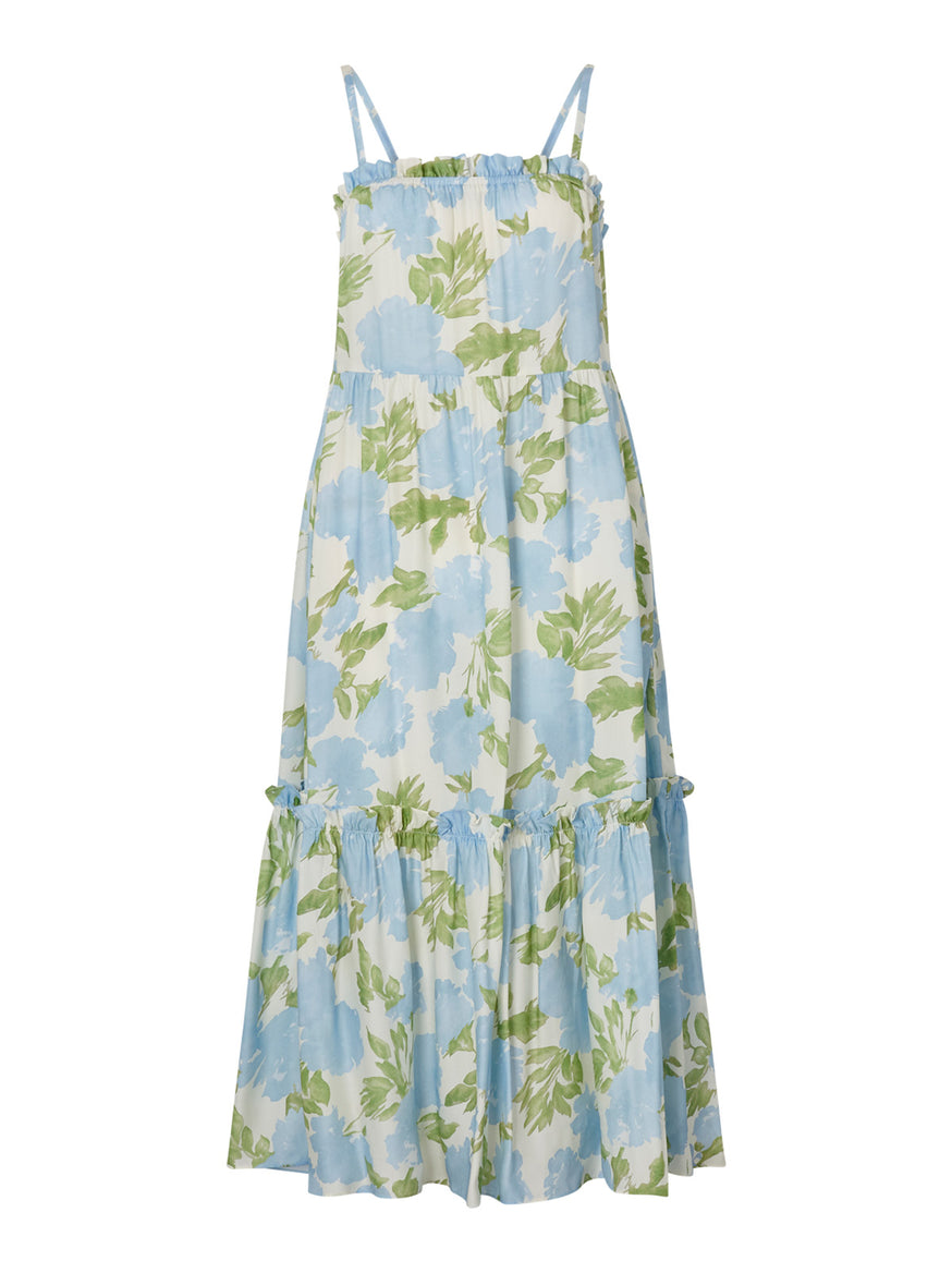 Amaya Blue Floral Dress by KITRI Studio