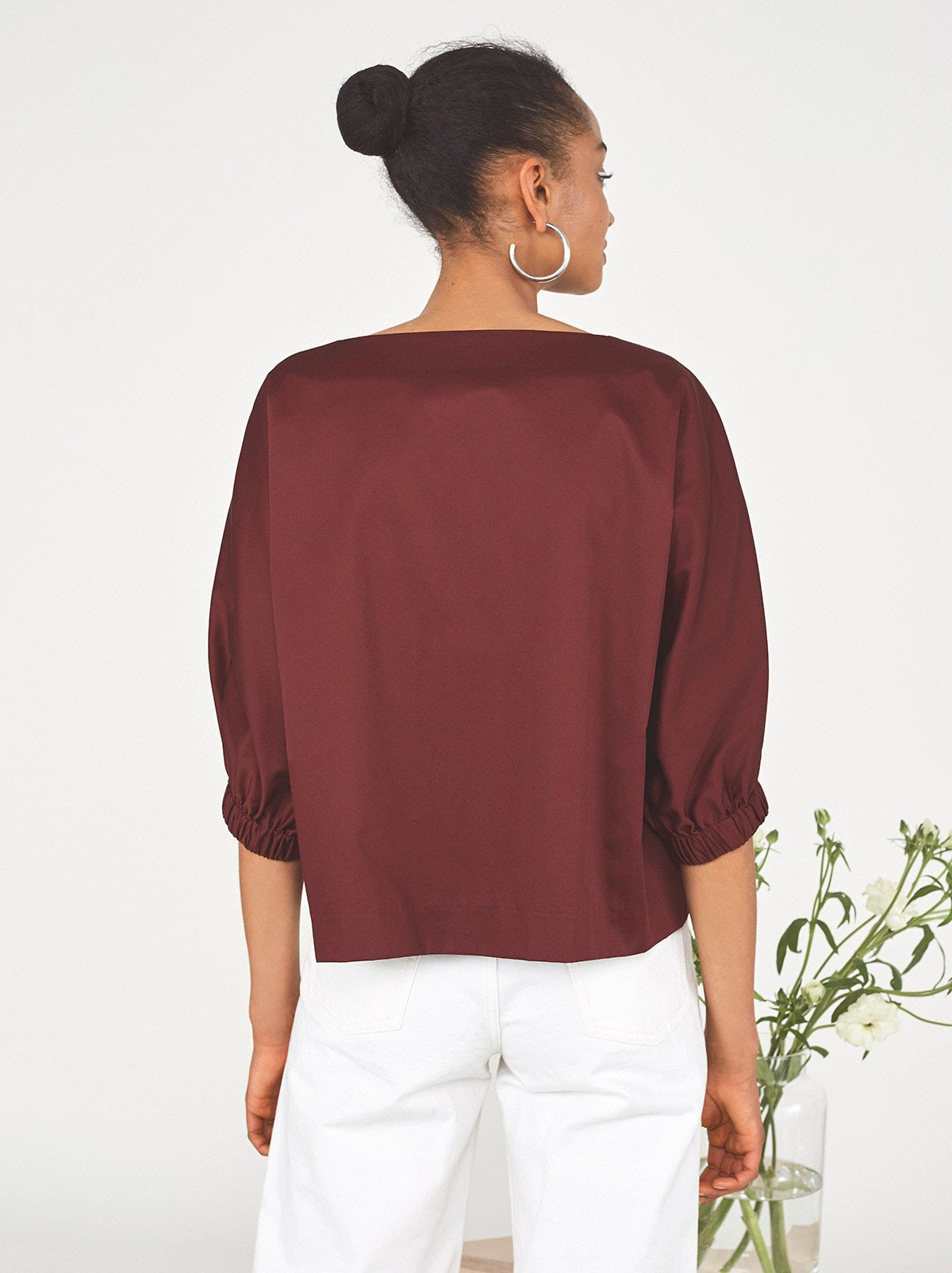 Maguire Cropped Shirt