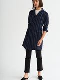 Misty Pinstripe Jacket Dress by KITRI Studio