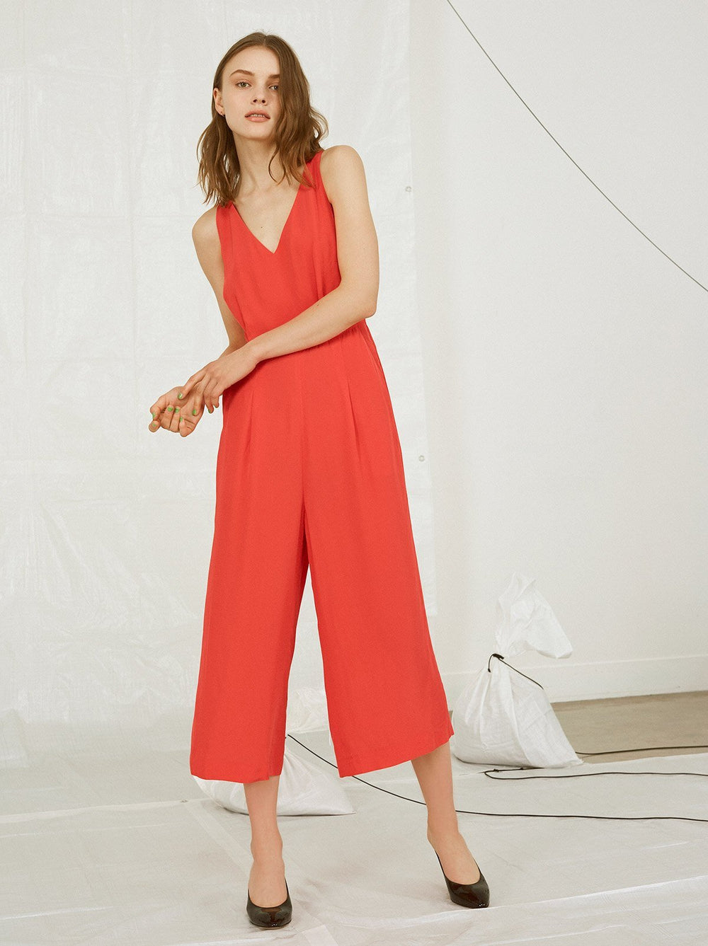 Molly Crossback Jumpsuit
