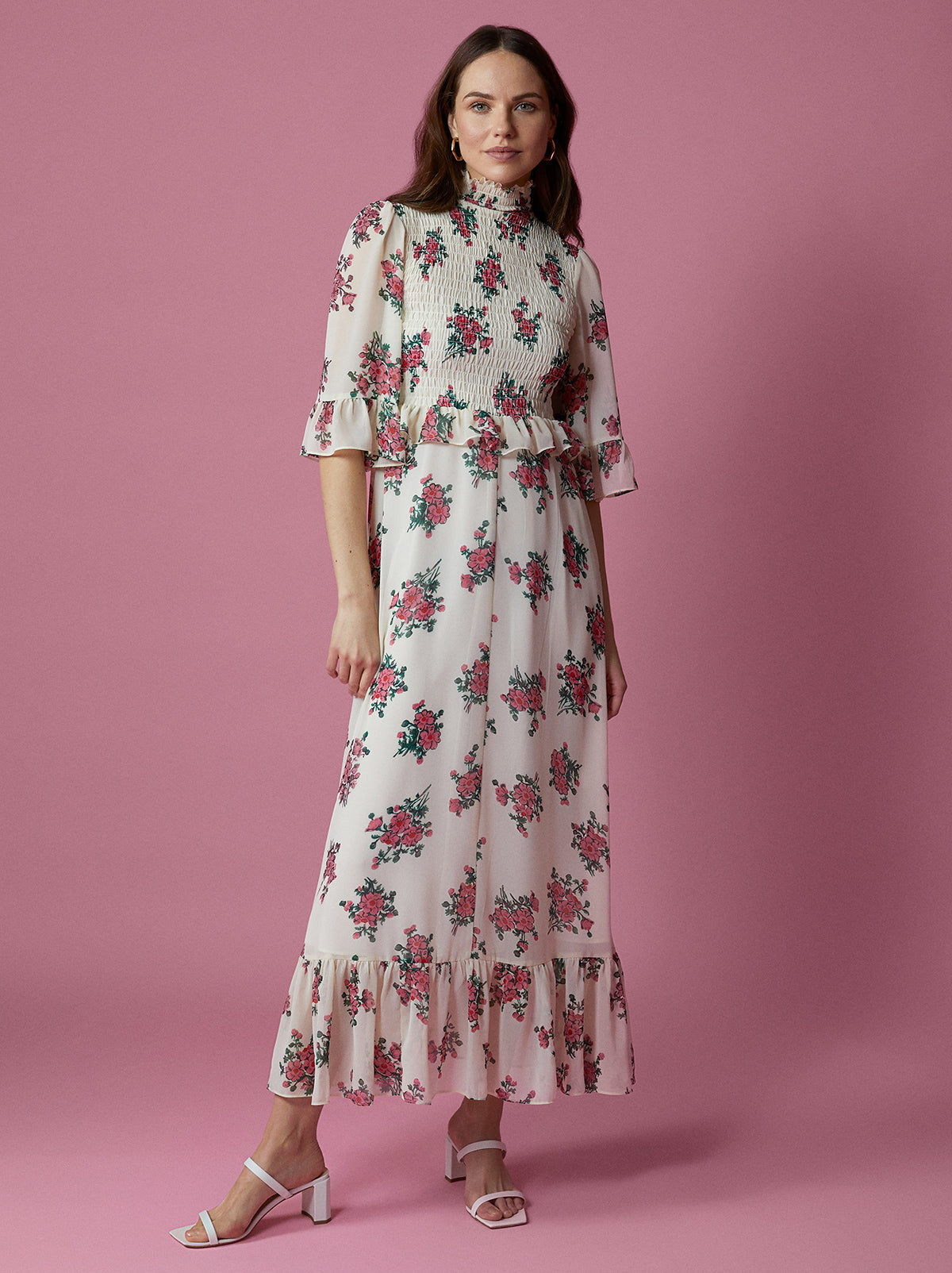 Rochelle Vintage Floral Dress by KITRI Studio