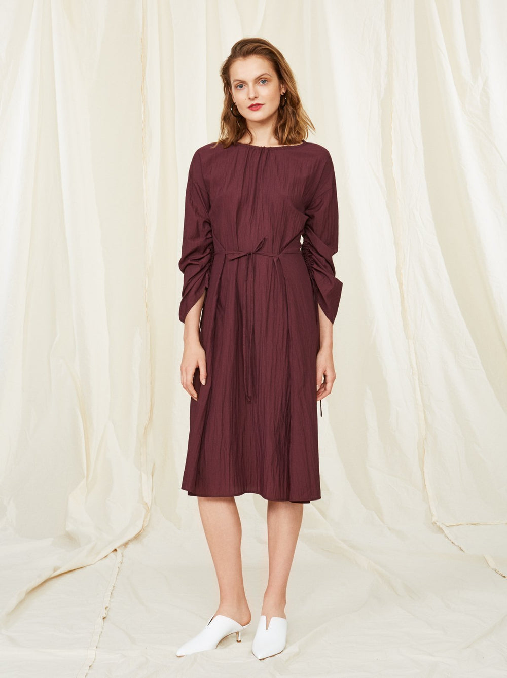Veronica Ruched Dress