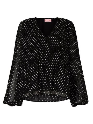 Kennedy Polka Dot Top