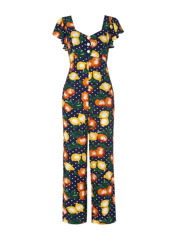 Lavana Fruit Print Jumpsuit by KITRI Studio
