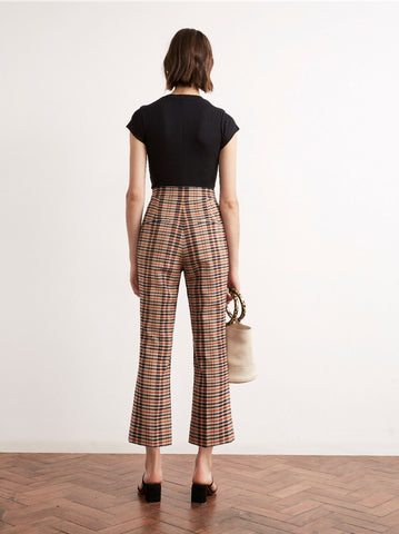 Lexi Cropped Flare Trousers