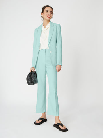 Lillian Mint Trousers by KITRI Studio