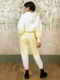 Lola Lemon Dip Dye Organic Cotton Hoody