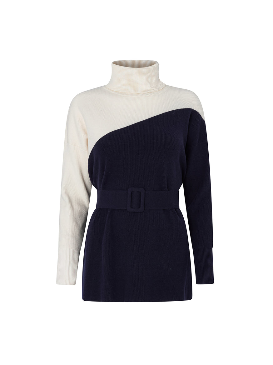 Marsha Roll Neck Jumper by KITRI Studio