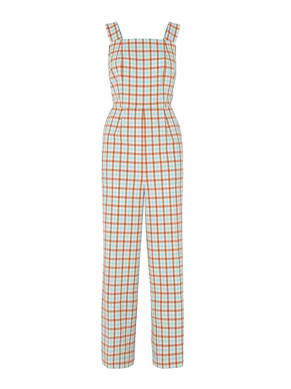 Tamar Tailored Check Jumpsuit by KITRI Studio