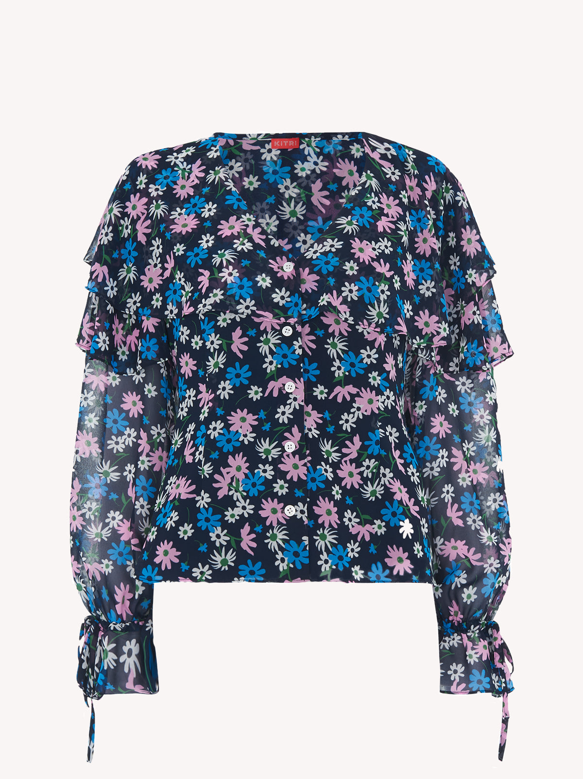 Ray Floral Print Blouse