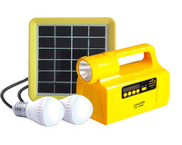Home 2W Lighting Solar System with USB Speaker (S2-1366)