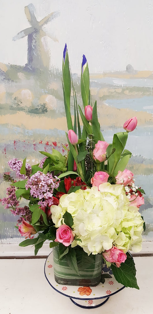 2018 Mother's Day  Lilic Cube Arrangement