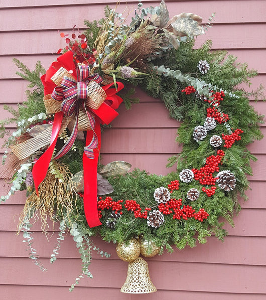 "48""Christmas Luxury Wreath Arrangement"