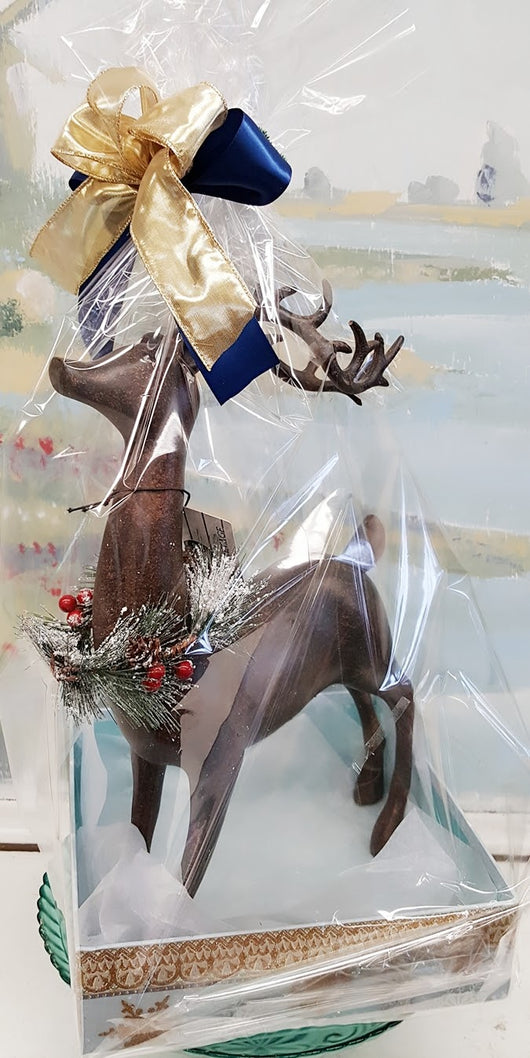 Christmas  Wood  Deer Gift