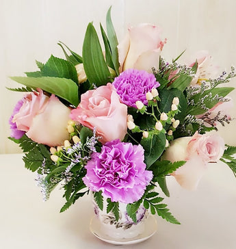 Elegant Beauty Cube Arrangement
