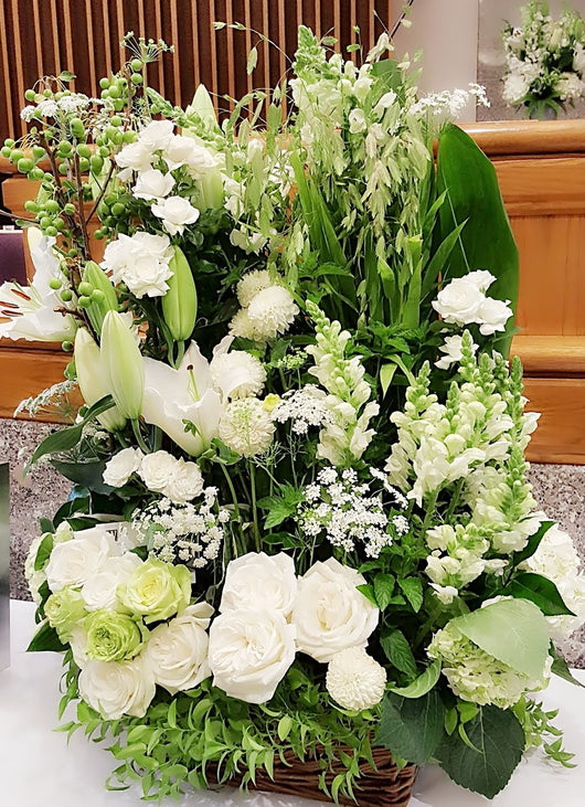 Eternal Affection Basket Arrangement