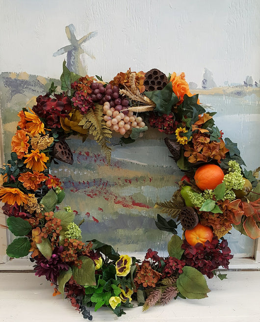 "48""  Fall Season Luxury  Wreath"