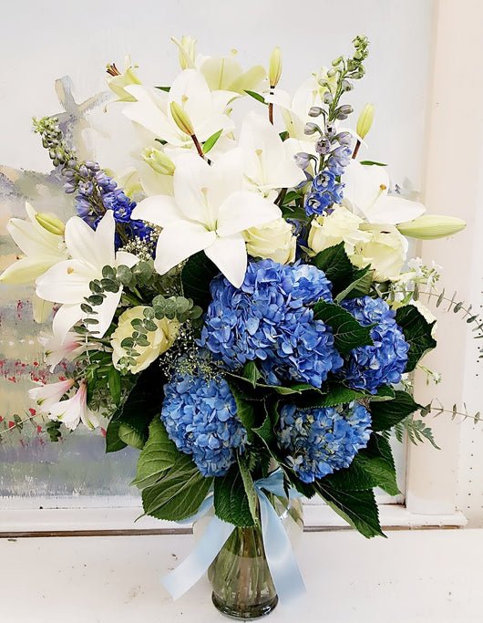 Whispers of Grace Sympathy Bouquet