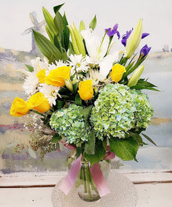 Spring Season Luxury Vase Arrangement