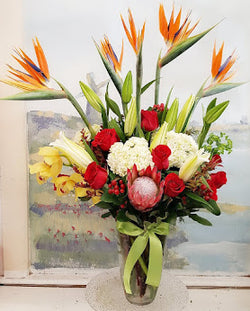 2019 Tropical  Luxury Vase Arrangement