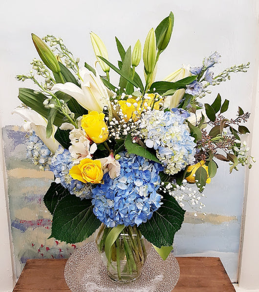 2019 Fall Season Luxury Vase Arrangement