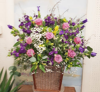 2021 Mother's Day  Luxury Basket Arrangement