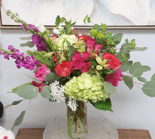 2021Romantic  Season Luxury Vase Arrangement