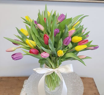 2021 Mother's Day  Tulip Vase Arrangement