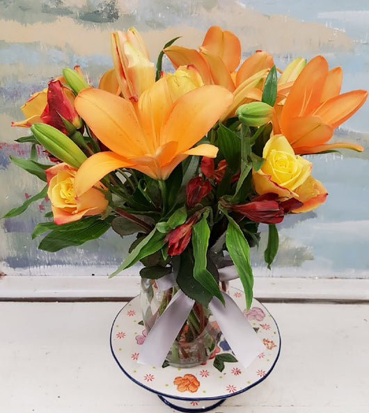 2018 Mother's Day Sweet Orange   Bouquet