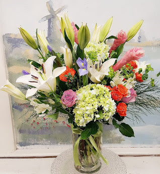 2019 Spring Luxury Vase Arrangement