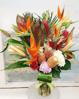 Tropical Luxury Vase Arrangement